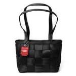 Black Medium Tote Seatbelt Bag