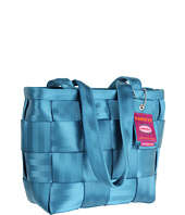 Teal Medium Tote Seatbelt Bag