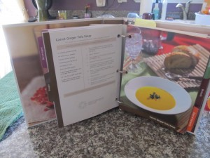 Carrot Ginger Tofu Soup Recipe Book