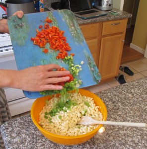 Perfect Macaroni Salad Add Veggies
