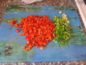 Perfect Macaroni Salad Chopped Veggies