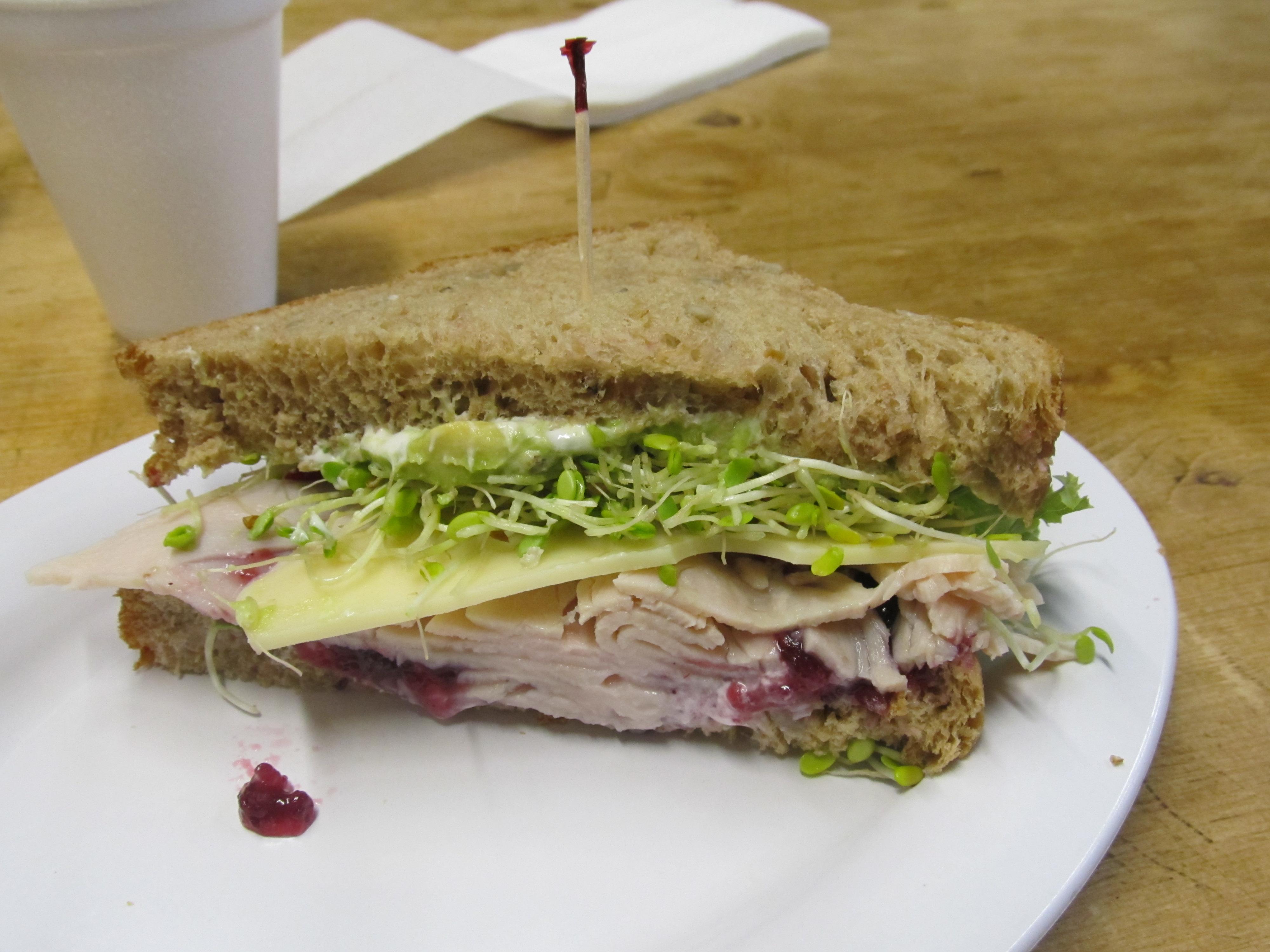 Scrumptious Turkey Sandwich