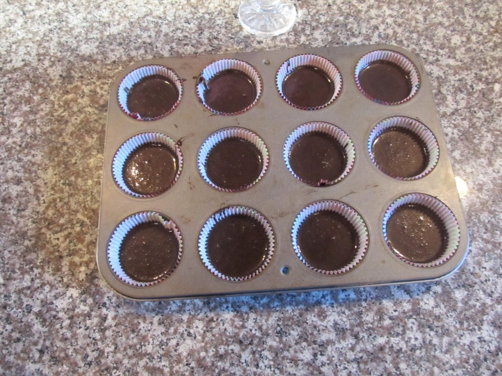 cupcakes ready for oven