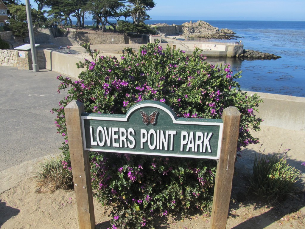 Lover's Point Park in Pacific Grove