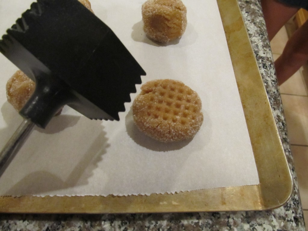 Peanut Butter Cookies meat tenderizer