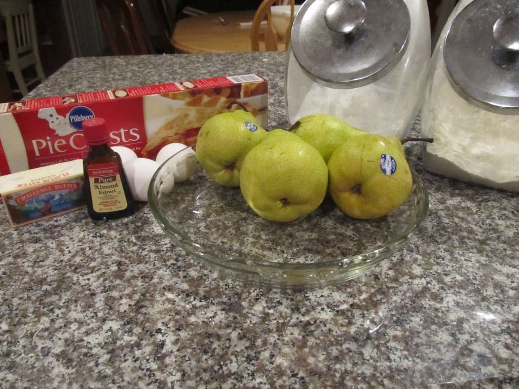 pear pie ingredients