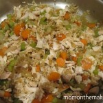 israeli couscous and chicken skillet dinner