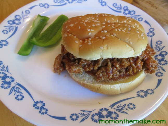 sloppy joe dinner