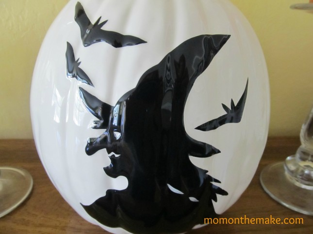halloween ceramic pumpkin ballard designs
