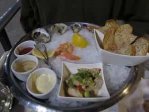 Oysters at Fish Story