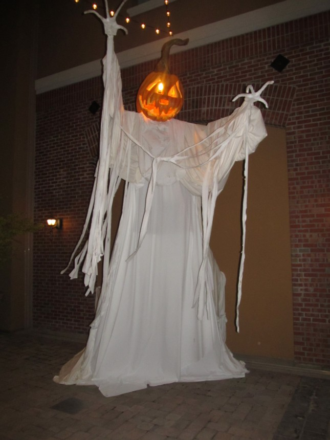Napa Downtown Pumpkin ghost