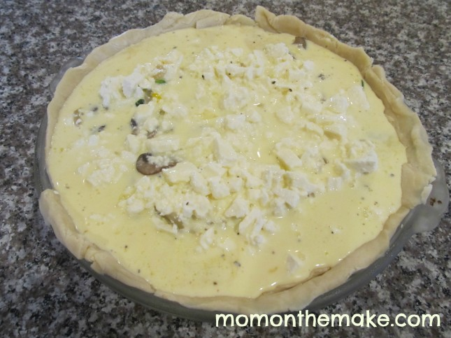 quiche before oven