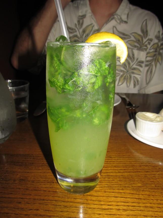 Gin Blossom at Bar a Cuda