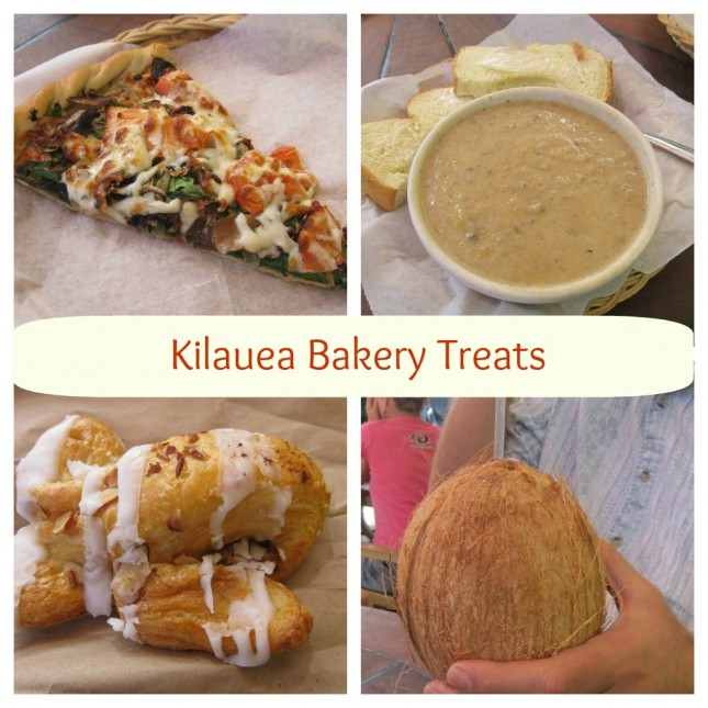 Kilauea Bakery Collage