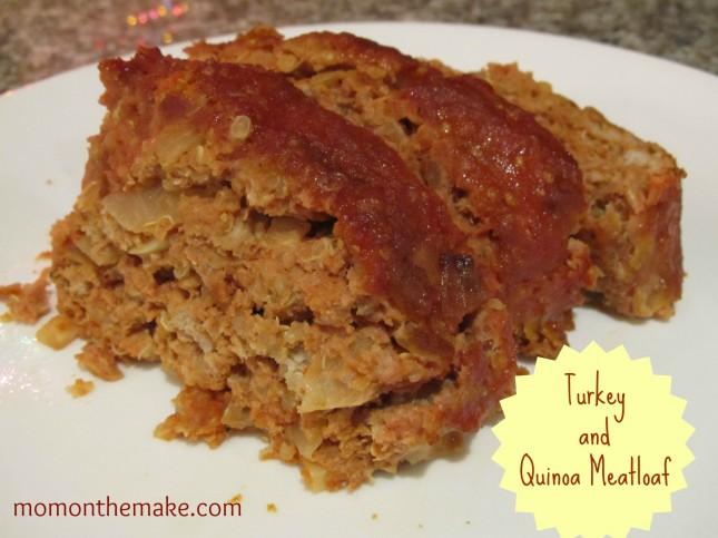 Turkey Quinoa Meatloaf