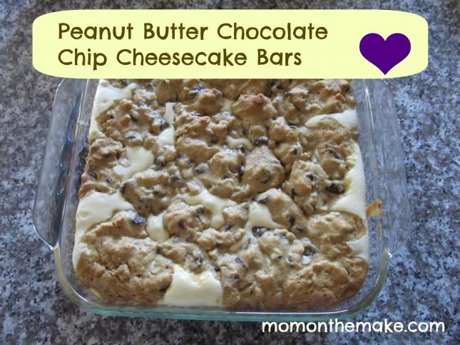 Chocolate-Cream Cheese-Peanut Butter Bars Recipe — Dishmaps