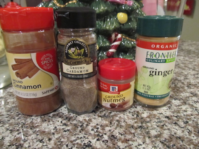 spices for apple butter