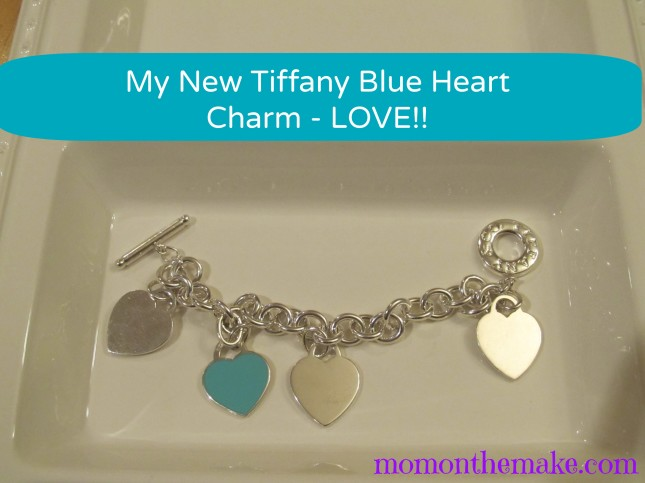tiffany bracelet with new charm