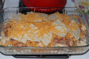 chicken tortilla casserole recipe