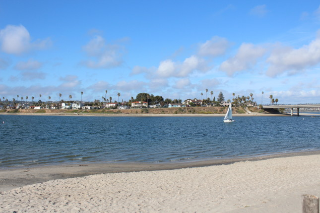 paradise point on mission bay