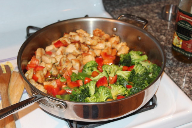 easy chicken teriyaki stir fry