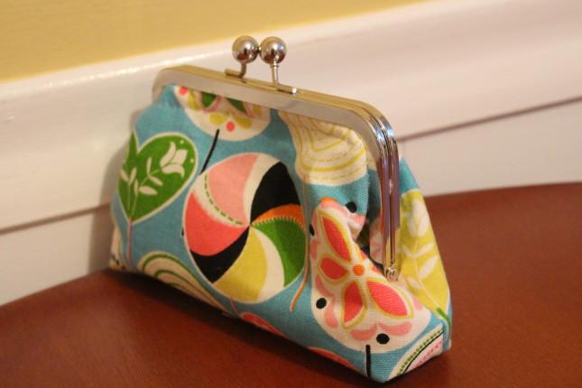 handmade clutch