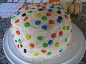 Magnolia Bakery Vanilla Cake and Frosting