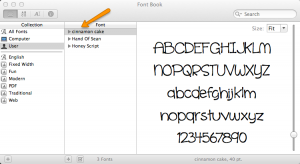 How to install a font