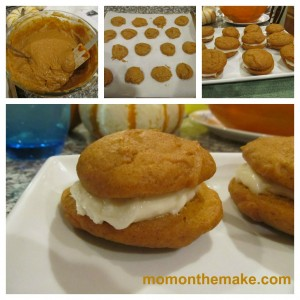 Pumpkin Whoopie Pie collage