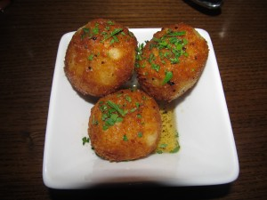 risotto fritters