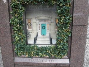 Tiffanys window display