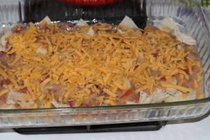 chicken tortilla casserole recipe